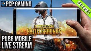 PUBG MOBILE LIVE STREAM | SUB GAMES | SPONSOR GAMES