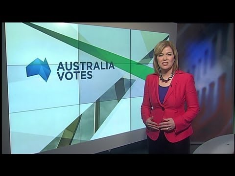 ABC News 24 - 'Australia Votes' 2013 Election Daily Program - Segment openers - 22/7/2013