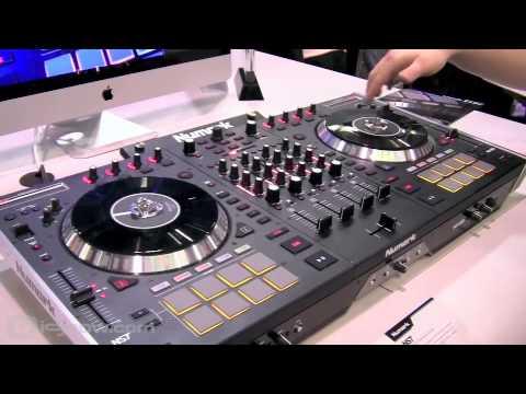 NAMM 2013 | Numark NS7 II 4-Channel DJ Performance Controller | idjnow