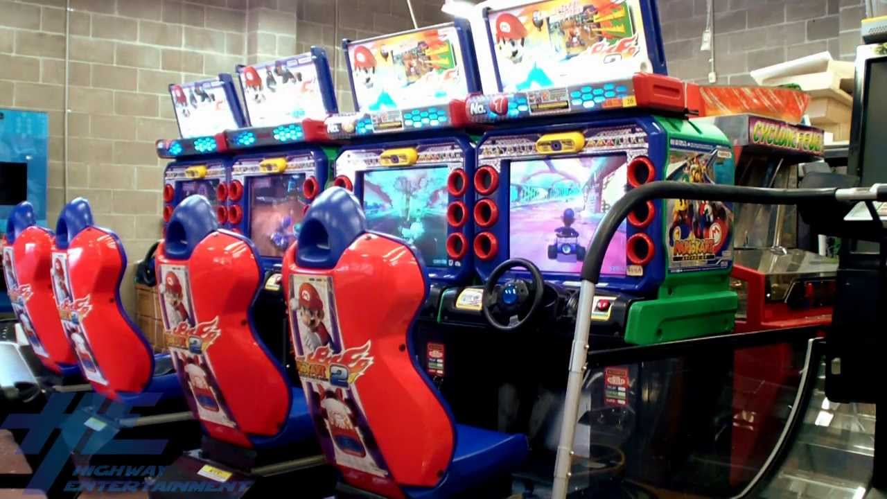 Mario Kart Arcade Gp 2 Machine Appearance Youtube