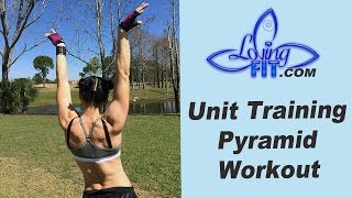 The Power of 4 Pyramid Workout ⎮ Loving Fit