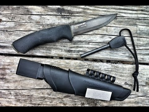 Black Scout Reviews - Mora Bushcraft Survival Black Knife