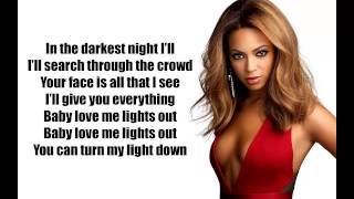 Beyonce-XO (lyrics video)