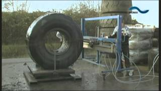 WOMA TV - Tyres cutting