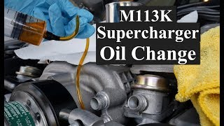 How to Change the Supercharger Oil on AMG M113k Engines (4K)