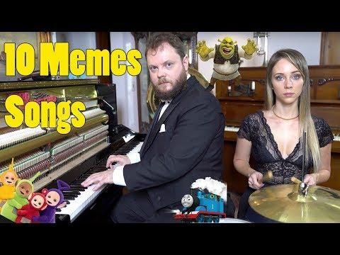 10 Memes Songs Vídeos de zueiras e brincadeiras: zuera, video clips, brincadeiras, pegadinhas, lançamentos, vídeos, sustos