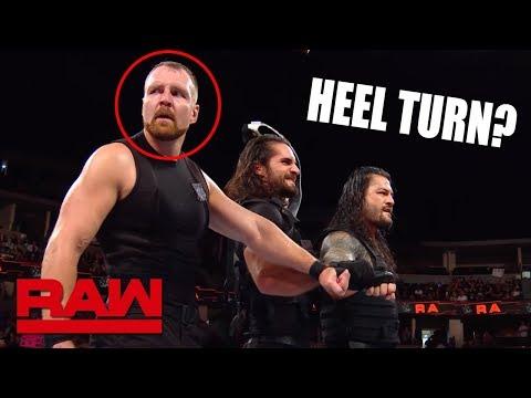 Dean Ambrose Heel Turn? The Shield Breaking Up!? WWE Raw Sept. 24, 2018