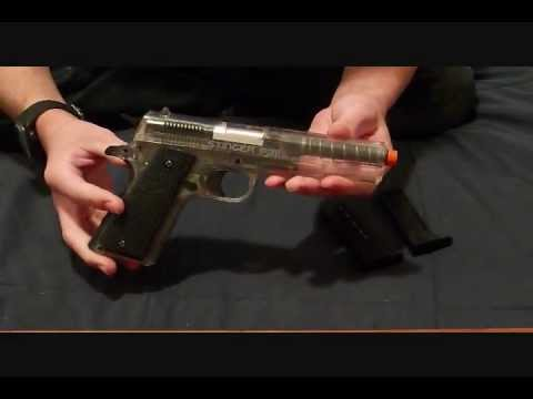Crosman Stinger P311 Spring Airsoft Pistol Review and Shooting