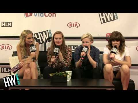 Grace Helbig, Hannah Hart & Mamrie Play 'Most Likely To' Game! (VIDCON 2014)