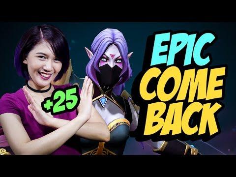 The MOST EPIC COMEBACK!! - Dota Peenoise Funny Moments LORELYNF Templar Assassin