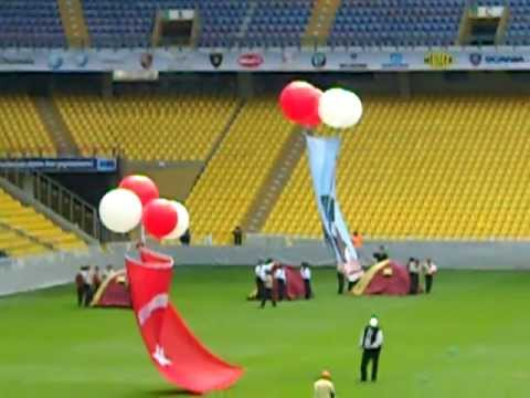 An american boys first view of turkish celebration at fenerbahce futbol stadium part 11 of 11