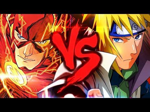 Flash VS. Minato | Duelo de Titãs