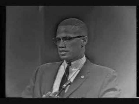 Malcolm X's racism solution