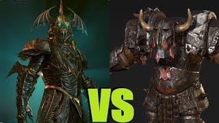 Стражи глубин vs Черные орки Total War Warhammer 2. тесты юнитов v1.5.0.