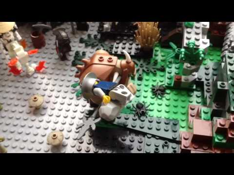 Моё Лего Королевство (Горная Крепость Троллей, и т.д.) My Lego Kingdom Massive Update (обзор)