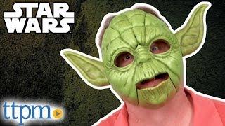 Star Wars Yoda Electronic Mask Review   Hasbro Toys & Games