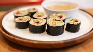 Grain-Free Nori Rolls - Nutrition for Performance & Recovery
