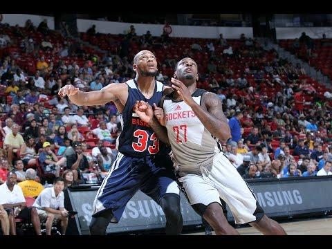 Summer League: Atlanta Hawks vs Houston Rockets