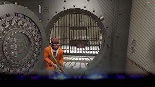 [GTA V] Bank overval open de kluis! (GTA5)