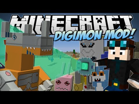 Minecraft | Digimon Mod! (digivolve, Collect & Battle!) | Mod Showcase video