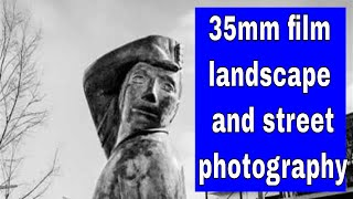 35mm film Landscape Photography and street photography test x 2