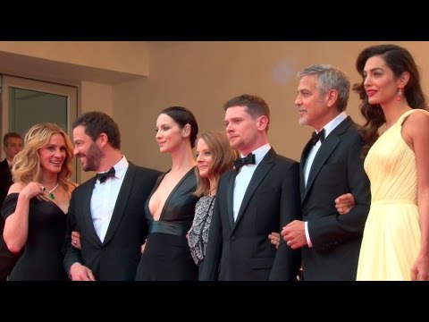 George Clooney, Amal Clooney, Julia Roberts and more at the Money Monster Cannes Premiere