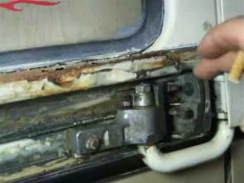 Vw Bus Sliding Door Repair Part 1 Youtube