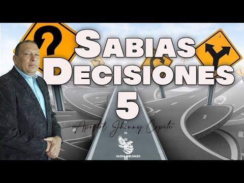 """SABIAS DESICIONES"" SERIE 4 APOSTOL JHONNY COPETE"