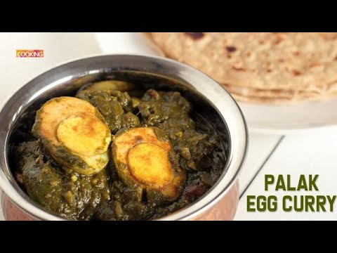 Palak Egg Curry | Spinach Egg Curry | Palak Recipes