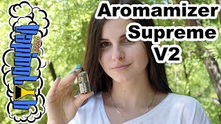 Обзор атомайзера Steam Crave Aromamizer Supreme V2