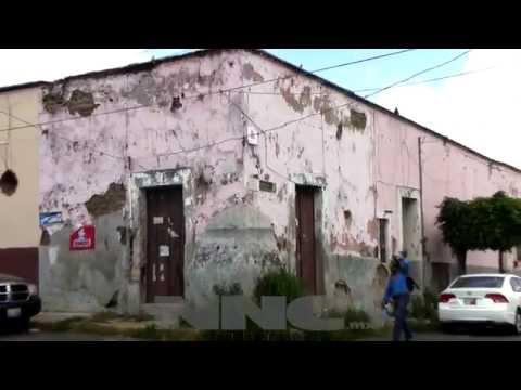 Casas viejas bombas de tiempo en Tepic