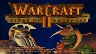 Warcraft 2 gameplay (PC Game, 1995)