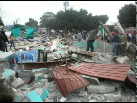 El antes, durante y después del desalojo de comerciantes de Tochtepec