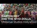 Martha May And The Who Dolls At Grinchmas 2017 At Universal Studios Hollywood mp3