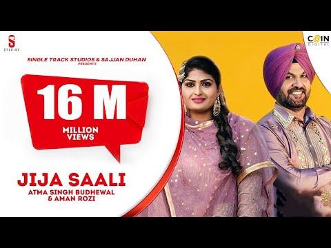 Jija Sali  || Atma Budhewal and Aman Rozi Live || Latest Brand...