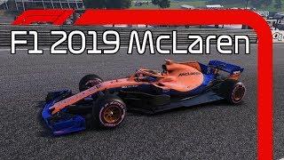 F1 2019 McLaren Mod Livery! - F1 2018 Mod Showcase!
