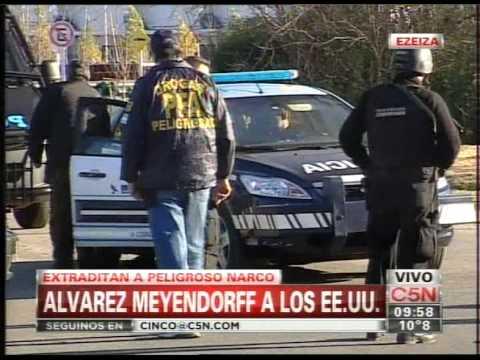 C5N - POLICIALES: EXTRADITAN A PELIGROSO NARCO A ESTADOS UNIDOS (PARTE 2)