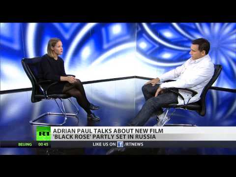 Adrian Paul talks about new film 'Black Rose' partly set in Russia