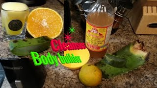 How to: treat Erectile Dysfunction (ED)   aloe Vera apple cider vinegar and orange juice