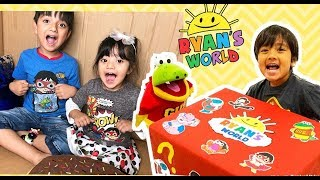 I MAILED MYSELF TO RYAN TOYS REVIEW AND IT WORKED! *NEW* Ryan World Toys from Ryan Toys Review!