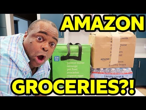 SERIOUSLY? GROCERIES FROM AMAZON?! [Trying Amazon Fresh]