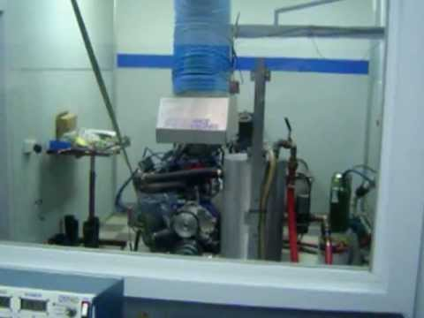 Ford 378 ci Stroker Cleveland on Engine Dyno 590hp