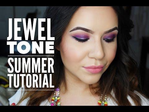 Summer Jewel Tone Tutorial
