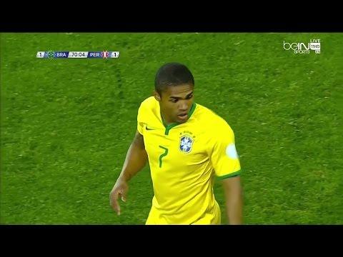 Douglas Costa vs Peru (Copa America 2015) HD 720p by i7xComps