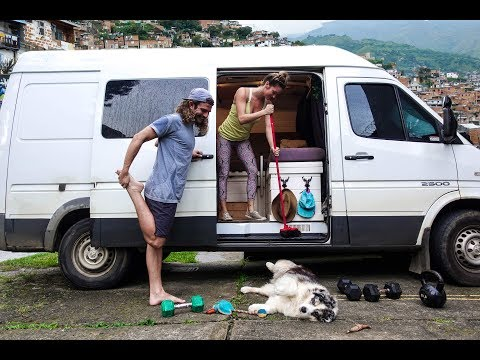 A REAL Van Life WEEK in COLOMBIA