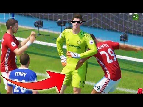 FIFA 17 FAILS - FUNNY MOMENTS & ILLUMINATI GLITCHES & THUG LIFE Compilation #3