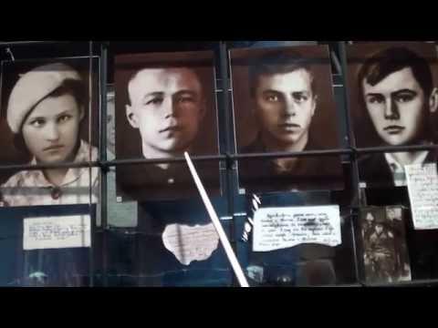 Им вырезали звёзды на груди... музей Молодая гвардия, Краснодон, ЛНР... часть 2