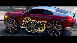 Grand Theft Auto 5  Donk Big Rim Edition  Rolls Royce Wraith  Dub Wheels  34S  Hd  1080p