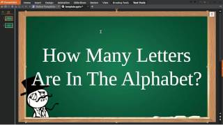 How Many Letters Are In The Alphabet