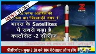 India to launch record 104 satellites in single mission